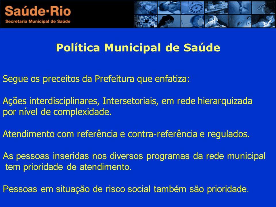 Política Municipal de Saúde