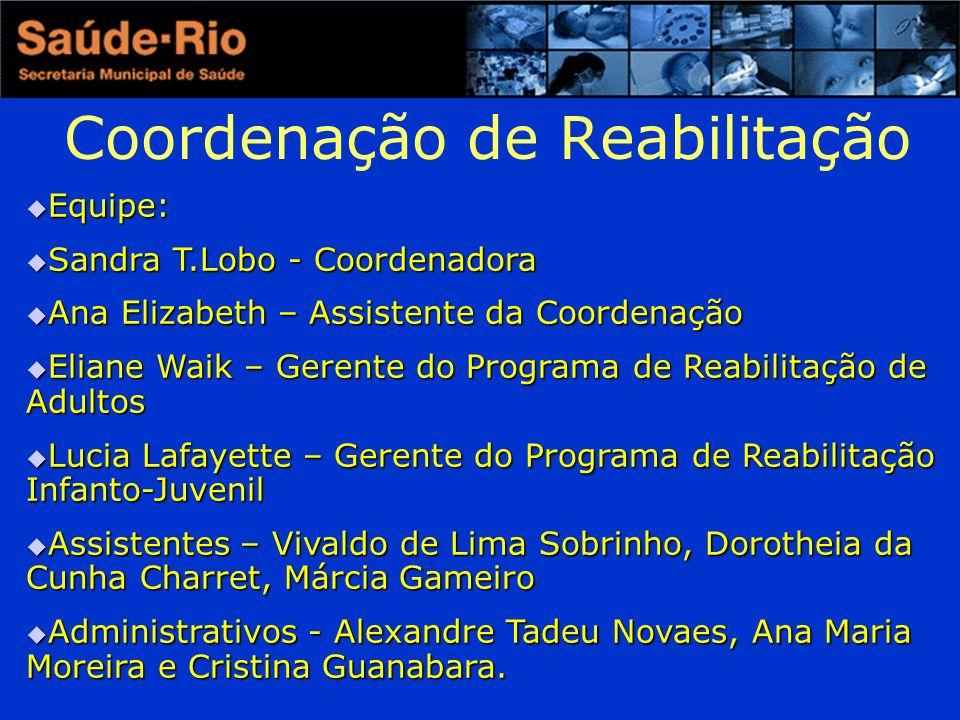 Coordenação de Reabilitação