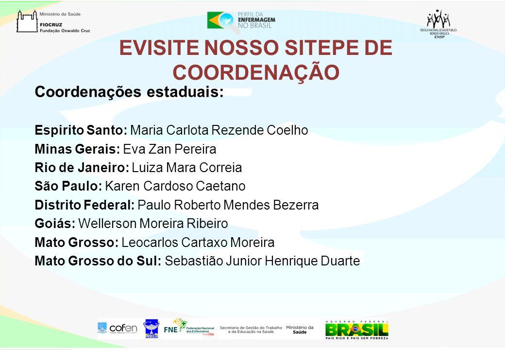 EVISITE NOSSO SITEPE DE COORDENAÇÃO