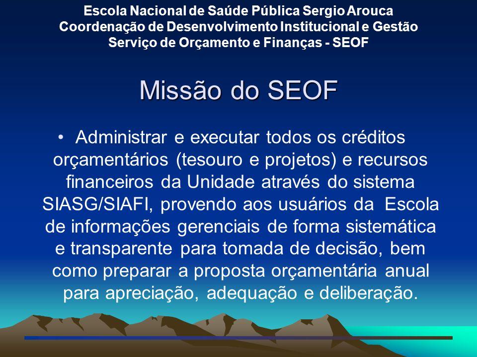 Missão do SEOF