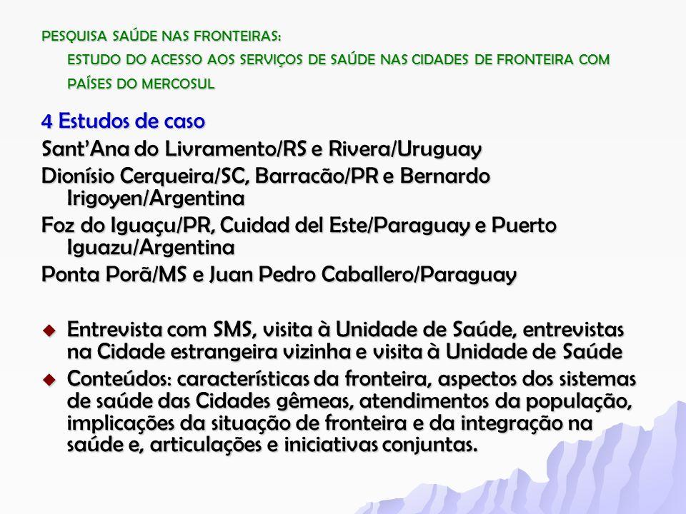 Sant'Ana do Livramento/RS e Rivera/Uruguay