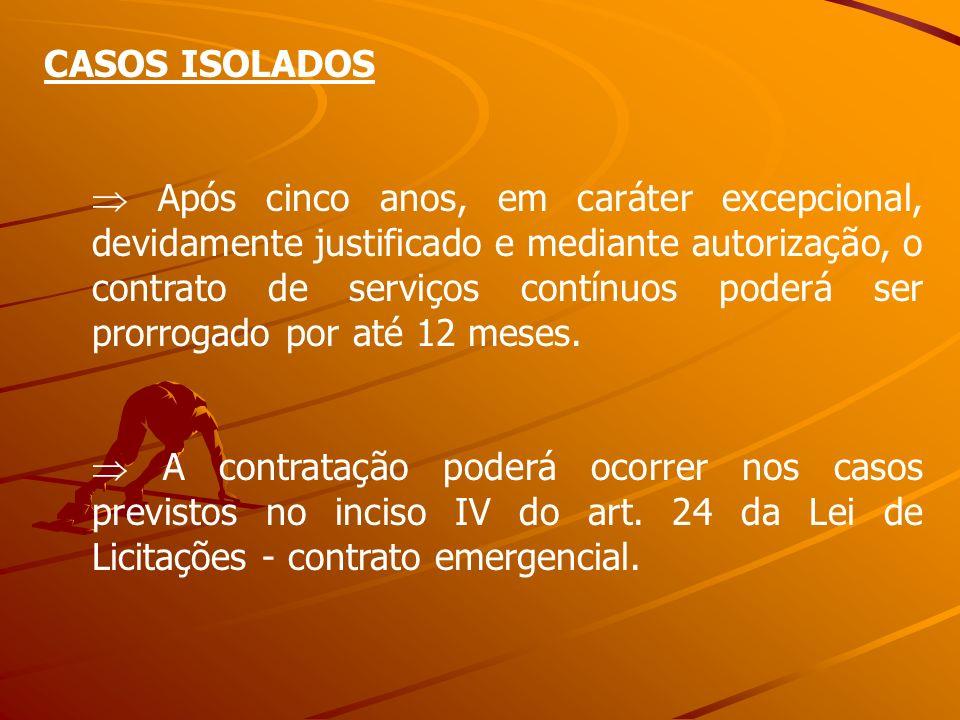 CASOS ISOLADOS