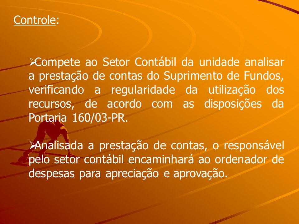 Controle: