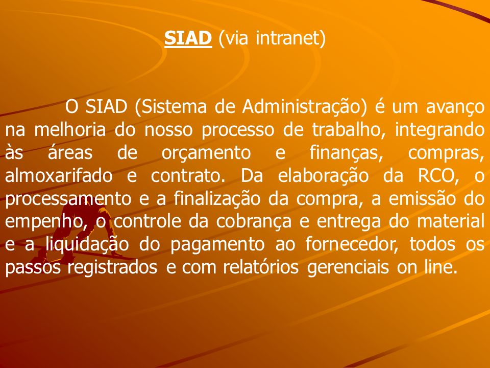 SIAD (via intranet)