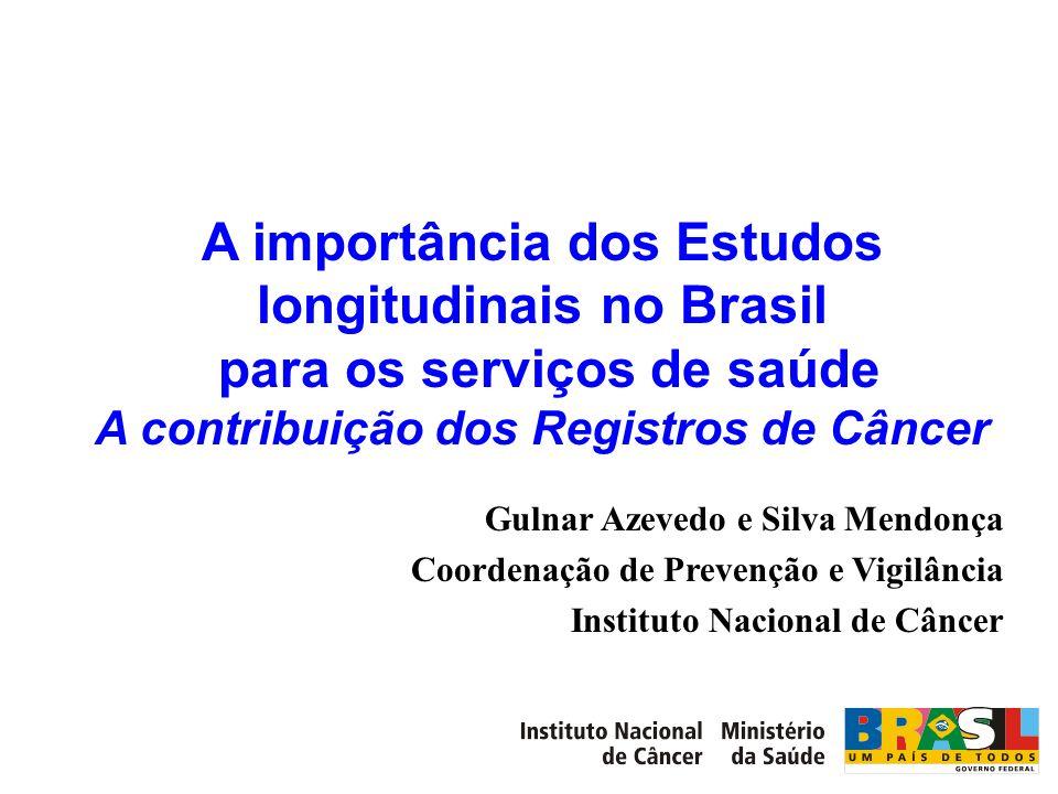 A importância dos Estudos longitudinais no Brasil