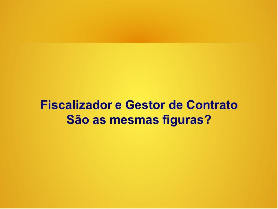 Fiscalizador e Gestor de Contrato