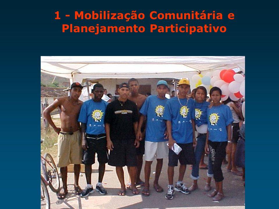 1 - Mobilização Comunitária e Planejamento Participativo