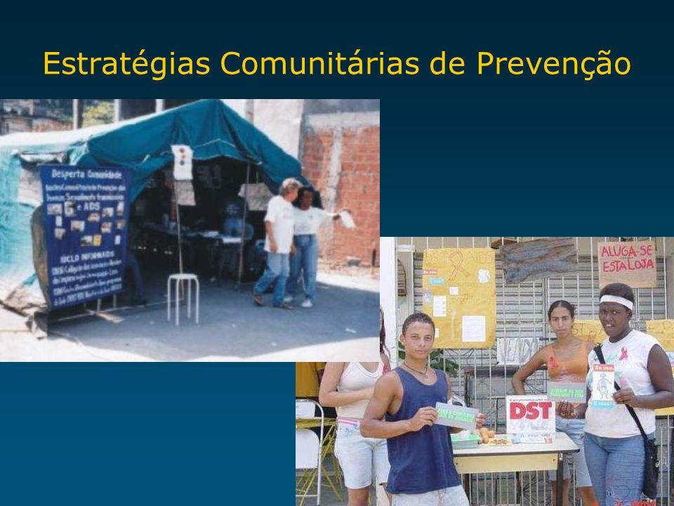 Estratégias Comunitárias de Prevenção