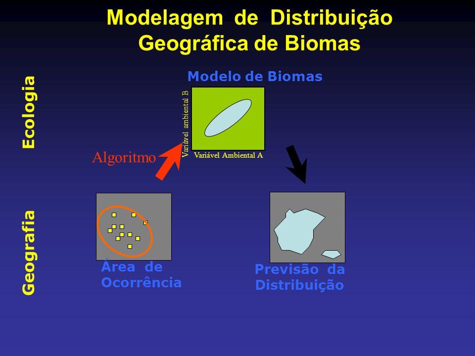Modelagem de Distribuição Geográfica de Biomas
