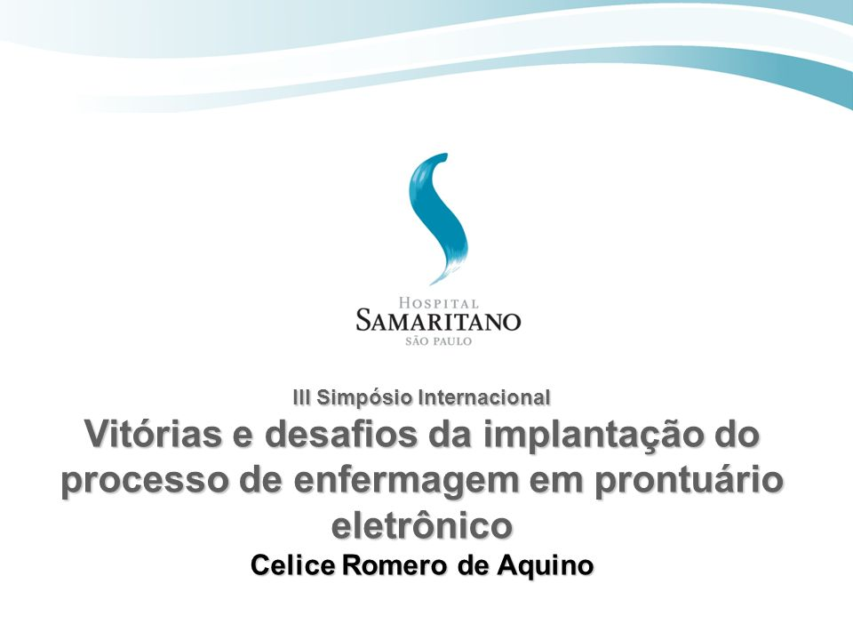 III Simpósio Internacional Celice Romero de Aquino