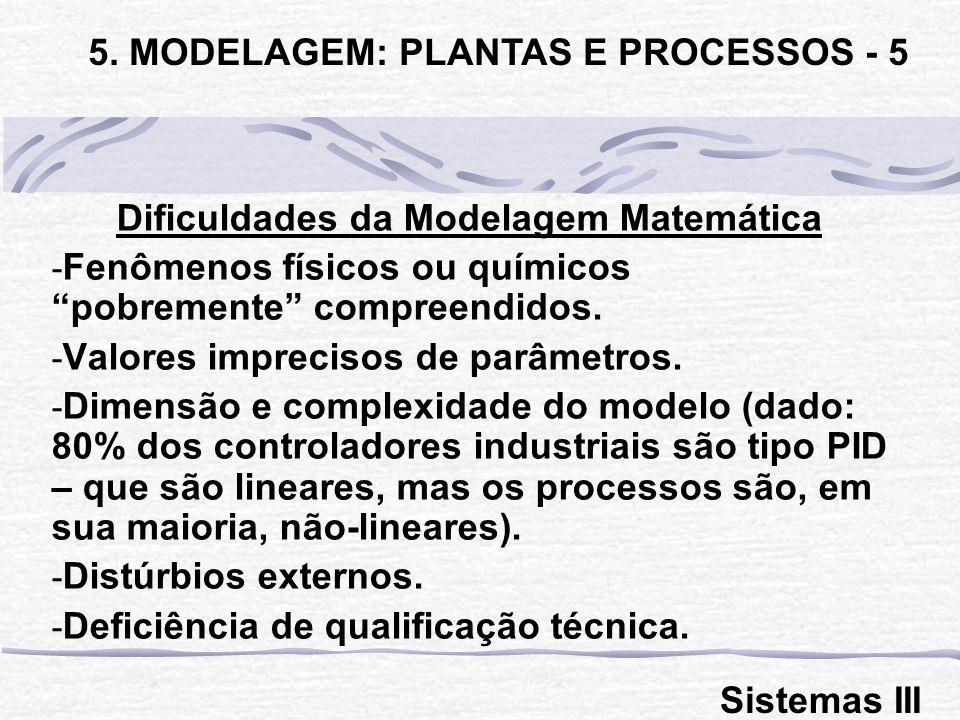 5. MODELAGEM: PLANTAS E PROCESSOS - 5