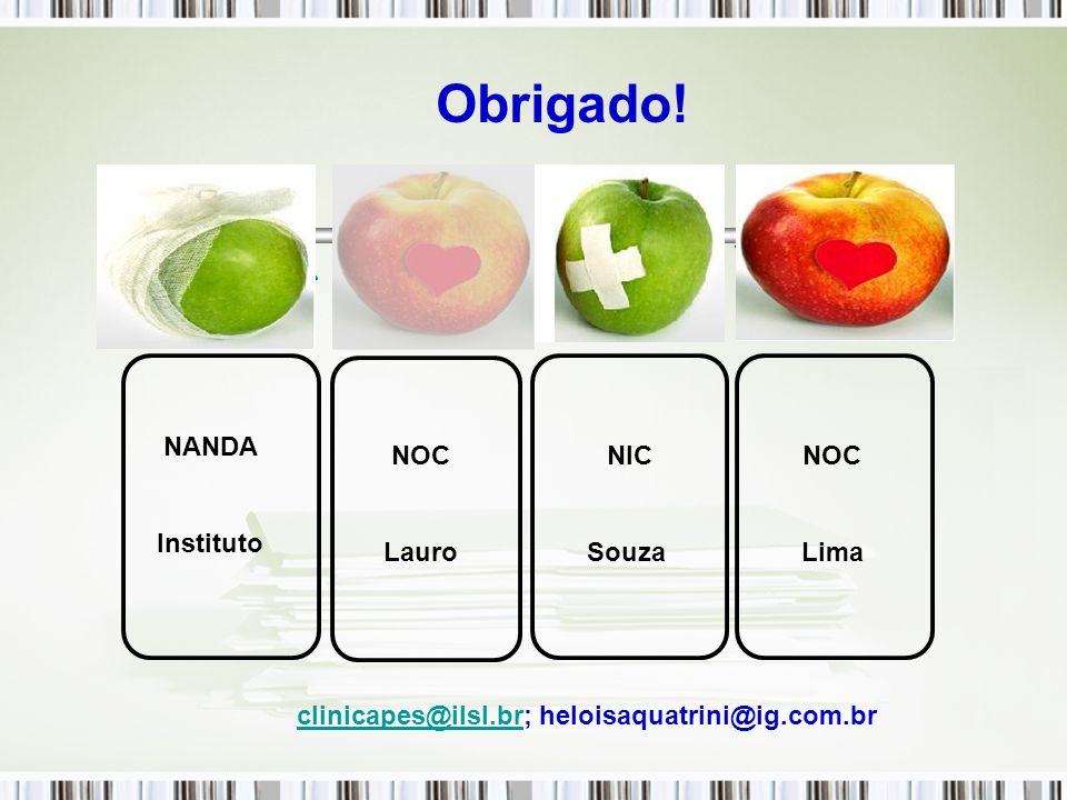 clinicapes@ilsl.br; heloisaquatrini@ig.com.br
