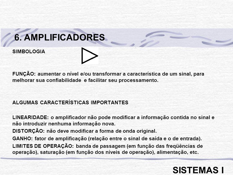 6. AMPLIFICADORES SISTEMAS I SIMBOLOGIA