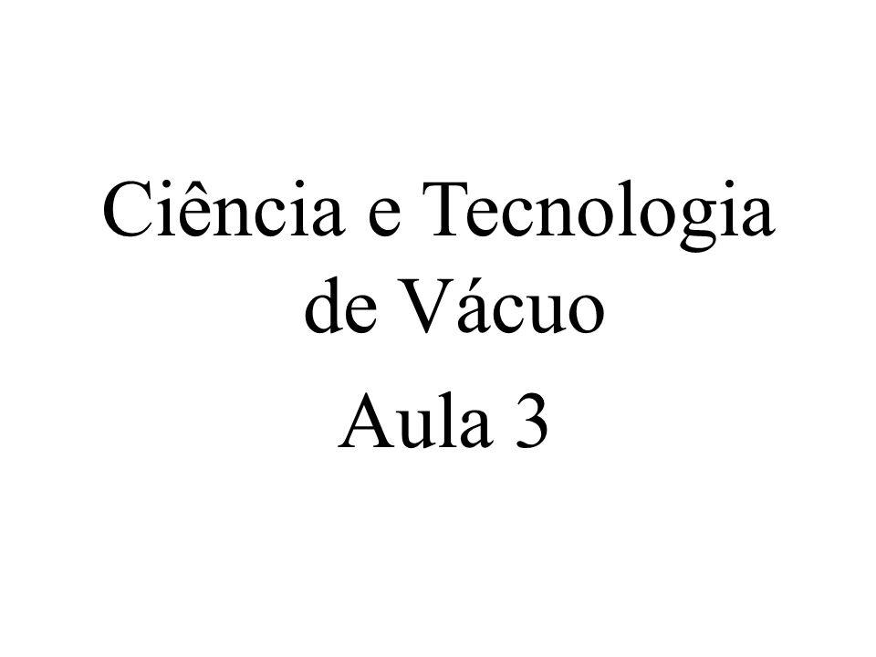 Ciência e Tecnologia de Vácuo