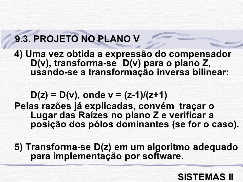 9.3. PROJETO NO PLANO V