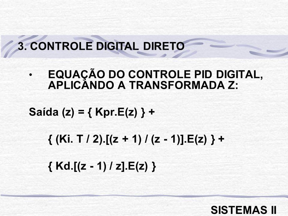 3. CONTROLE DIGITAL DIRETO