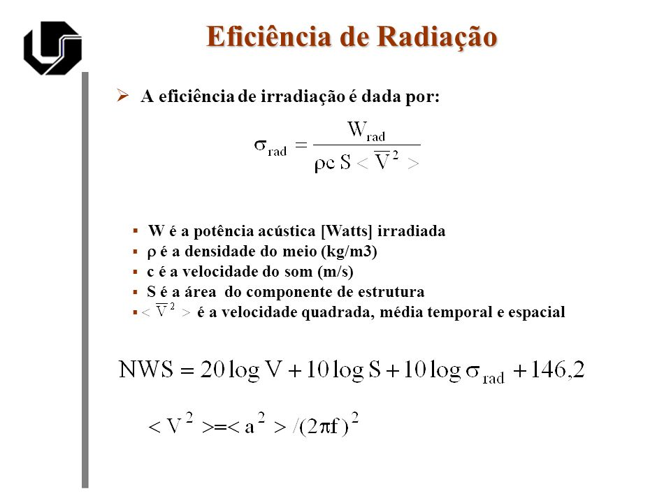 Eficiência de Radiação