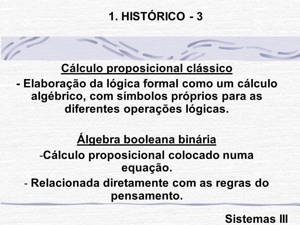 Cálculo proposicional clássico
