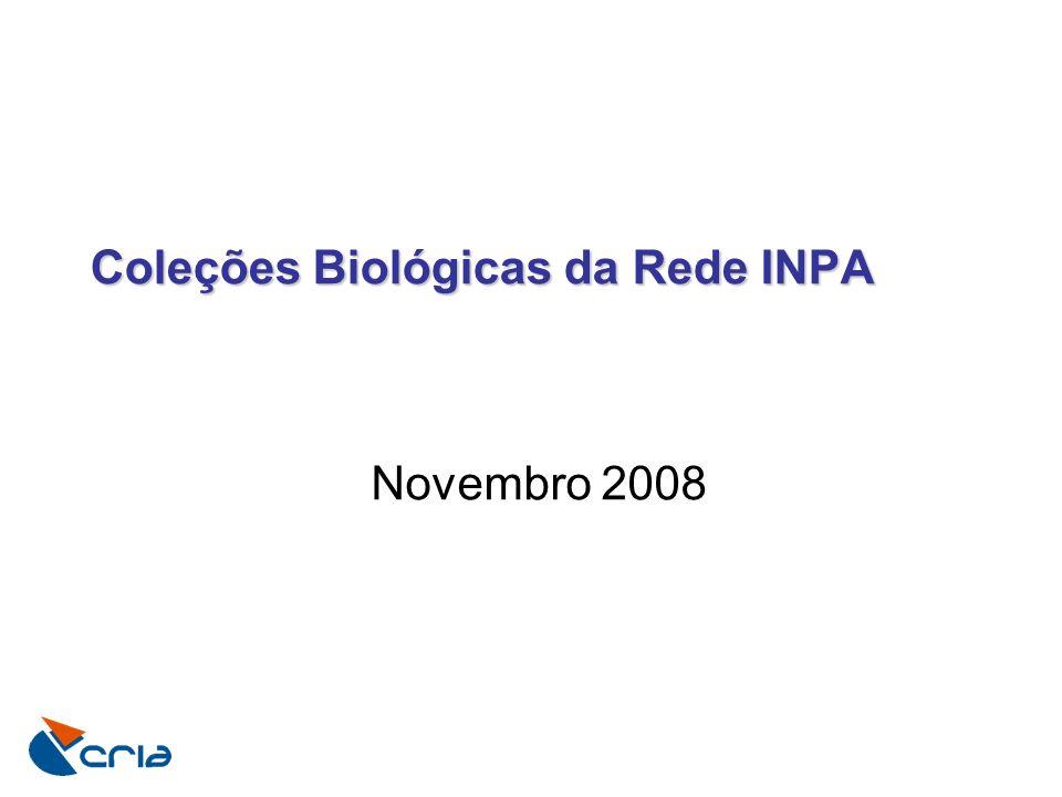 Coleções Biológicas da Rede INPA