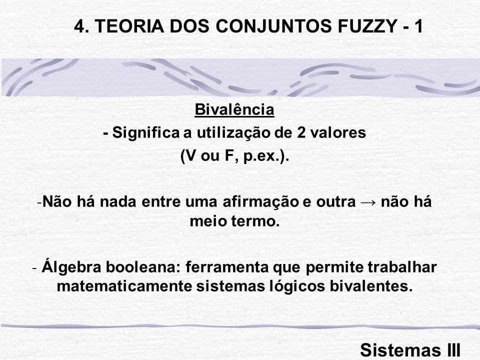 4. TEORIA DOS CONJUNTOS FUZZY - 1