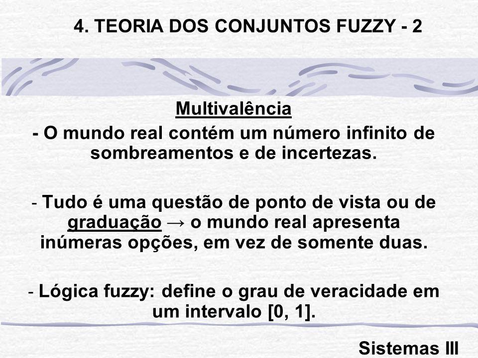 4. TEORIA DOS CONJUNTOS FUZZY - 2