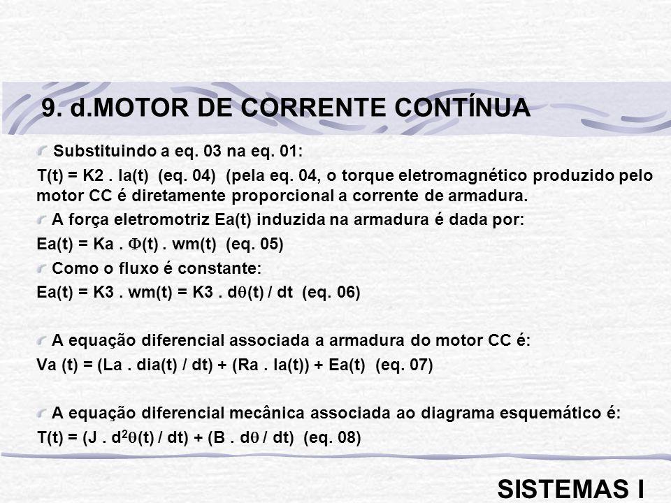 9. d.MOTOR DE CORRENTE CONTÍNUA