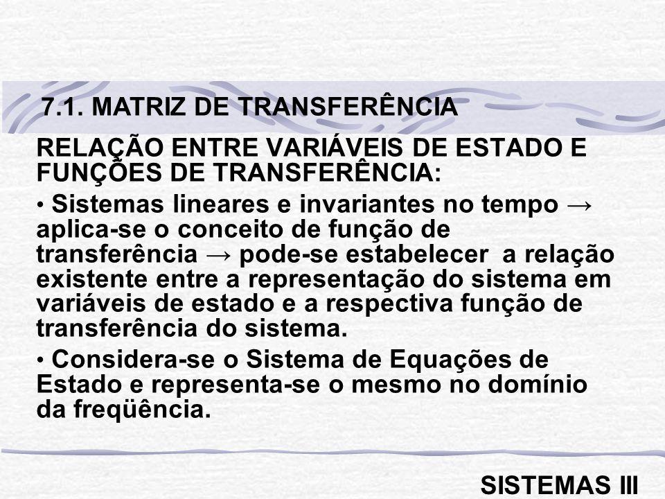 7.1. MATRIZ DE TRANSFERÊNCIA