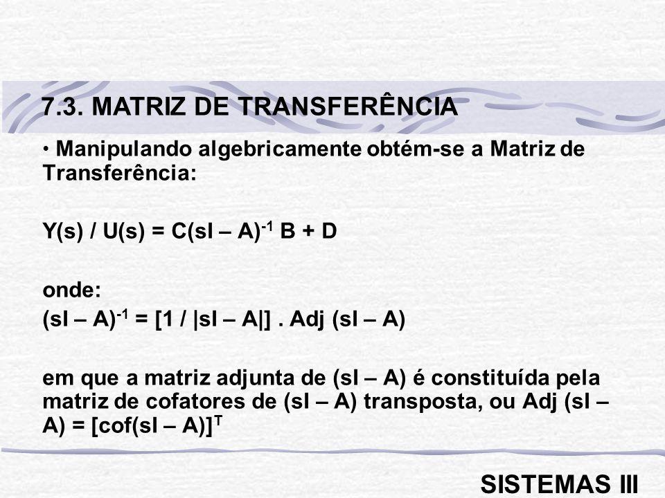 7.3. MATRIZ DE TRANSFERÊNCIA