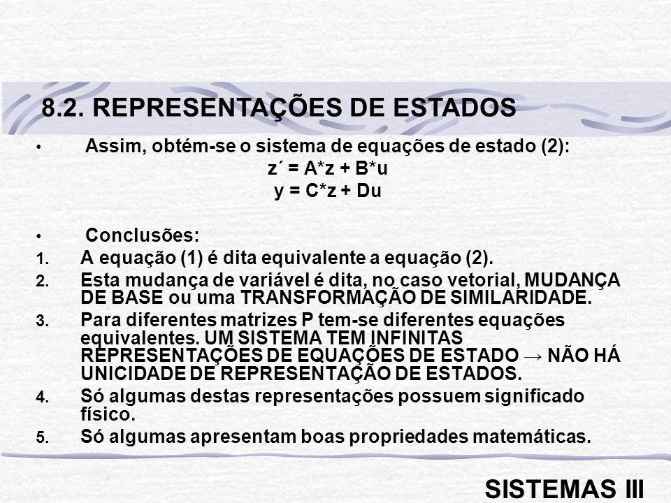 8.2. REPRESENTAÇÕES DE ESTADOS