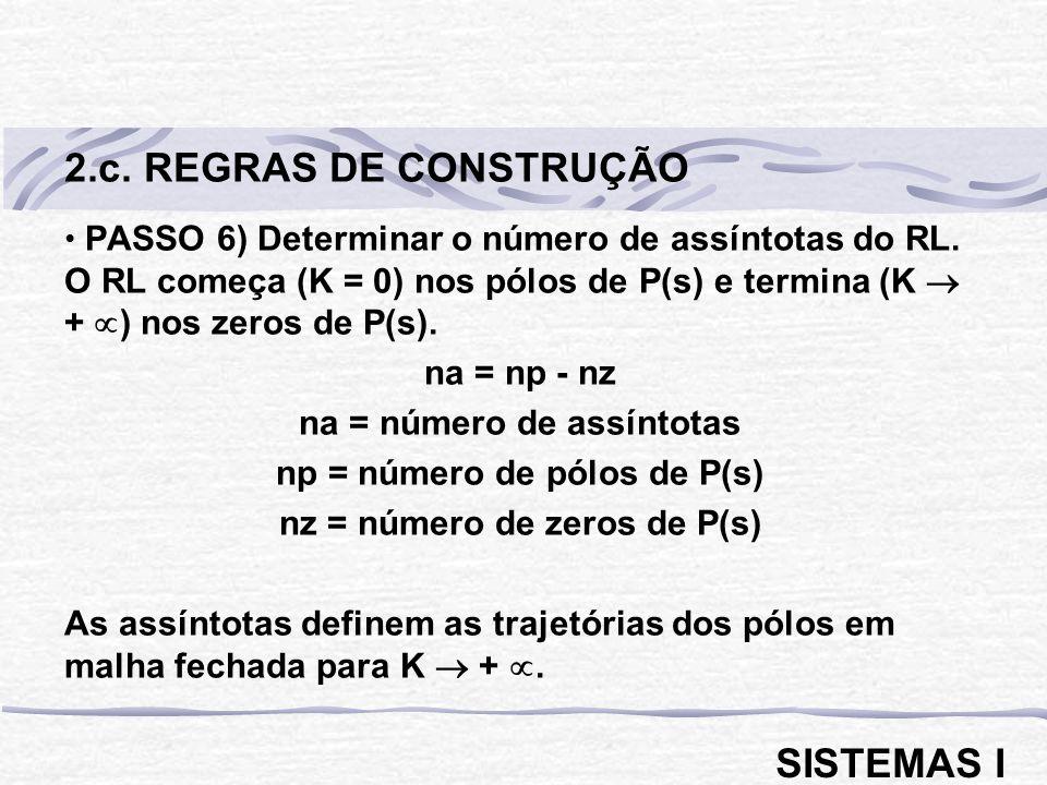 2.c. REGRAS DE CONSTRUÇÃO SISTEMAS I