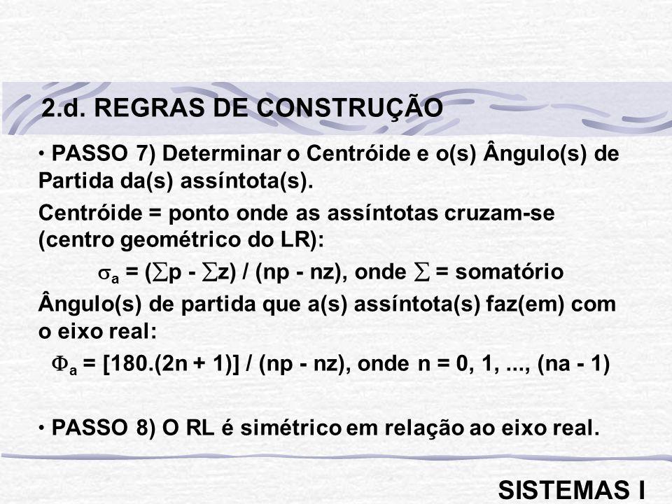 2.d. REGRAS DE CONSTRUÇÃO SISTEMAS I