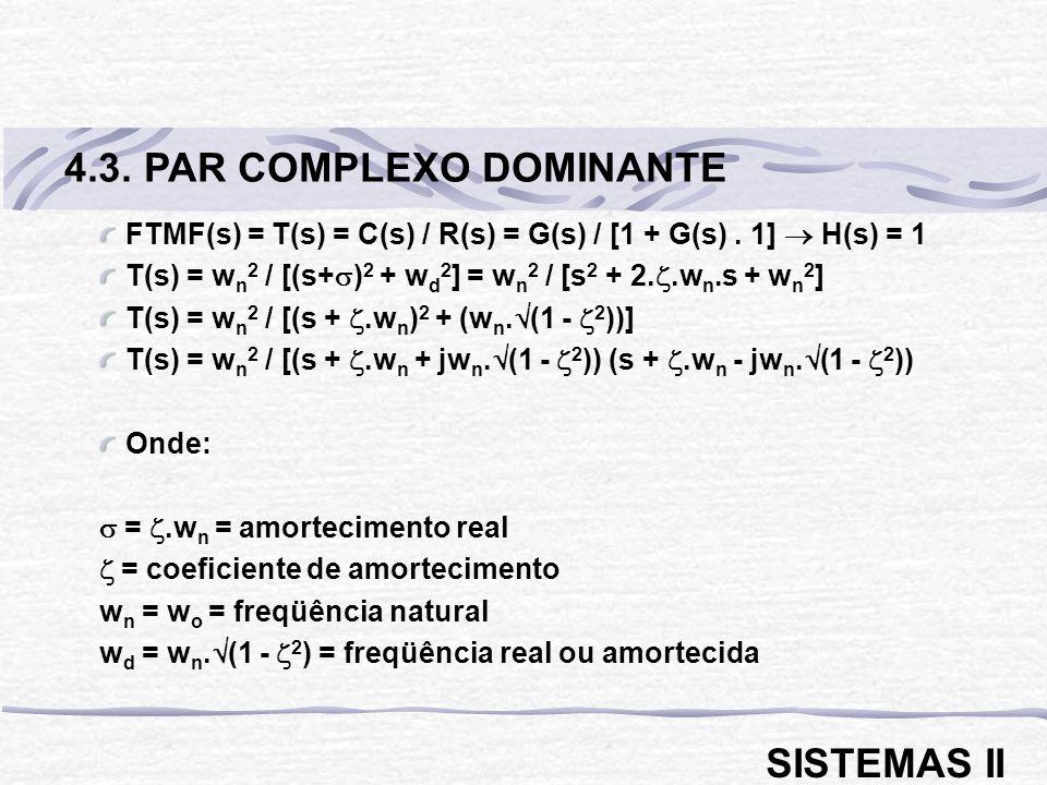 4.3. PAR COMPLEXO DOMINANTE