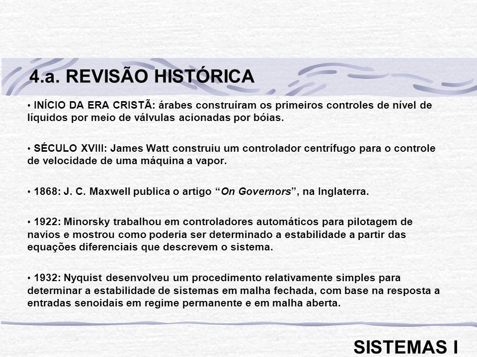 4.a. REVISÃO HISTÓRICA SISTEMAS I