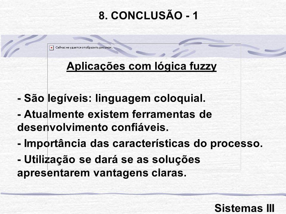 Aplicações com lógica fuzzy