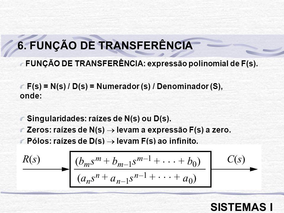 6. FUNÇÃO DE TRANSFERÊNCIA