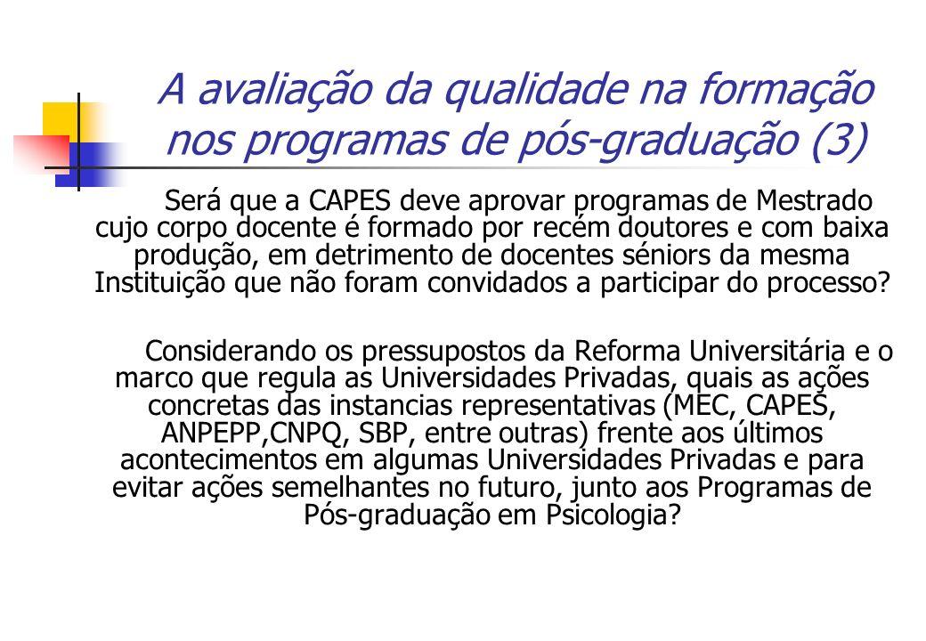 A avaliação da qualidade na formação nos programas de pós-graduação (3)