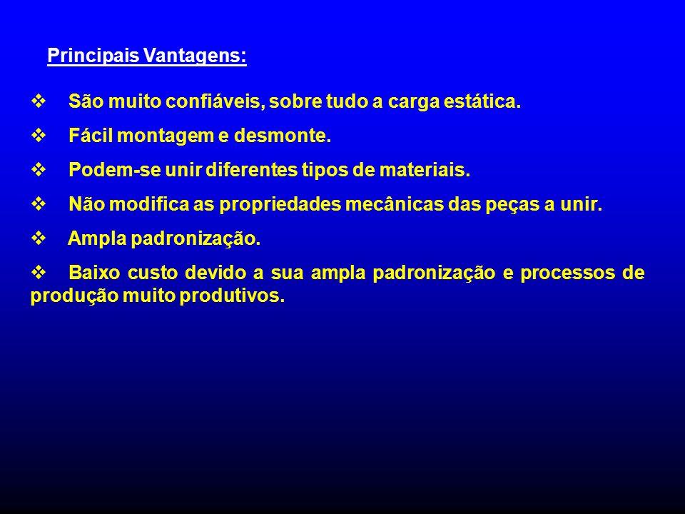 Principais Vantagens: