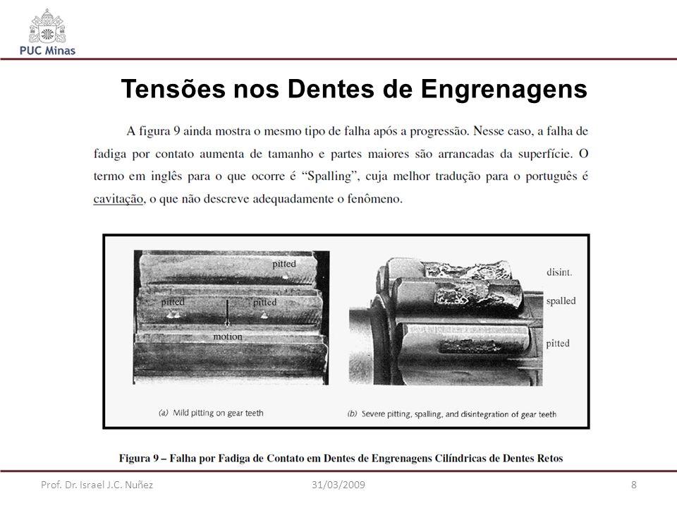 Tensões nos Dentes de Engrenagens
