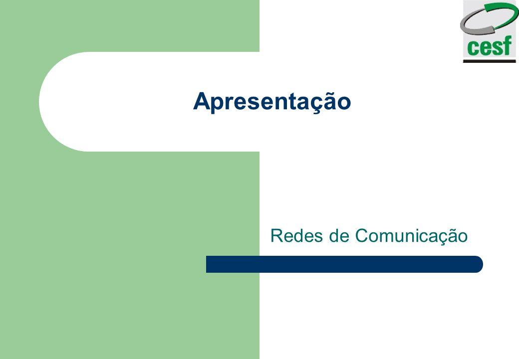 Apresentação Redes de Comunicação