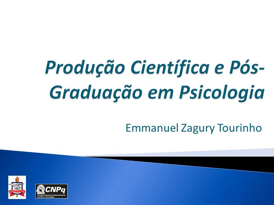 Produção Científica e Pós-Graduação em Psicologia