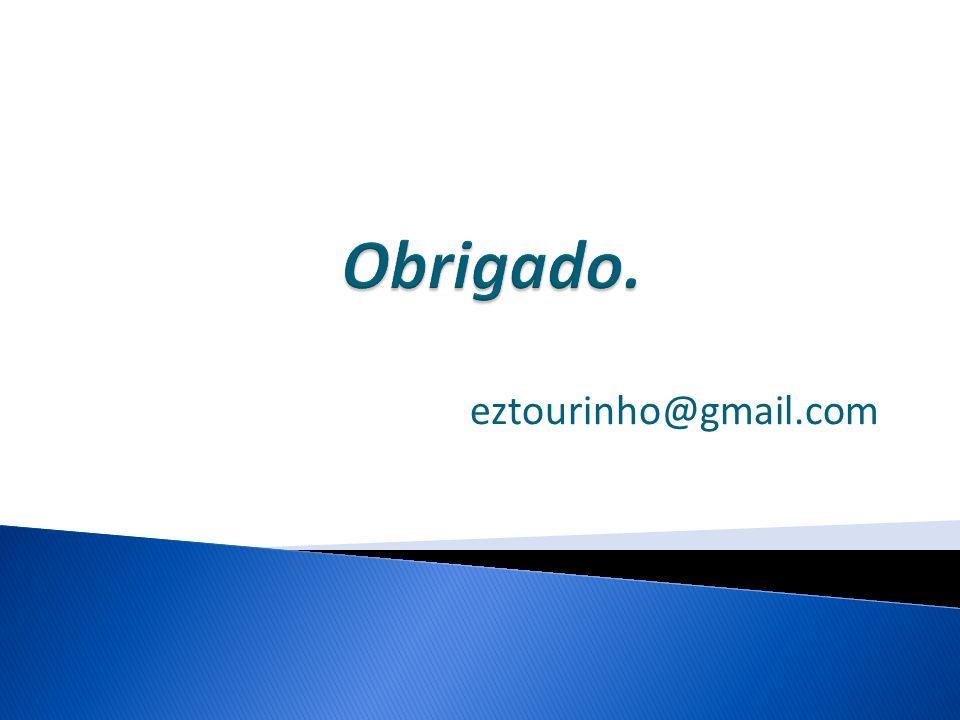 Obrigado. eztourinho@gmail.com