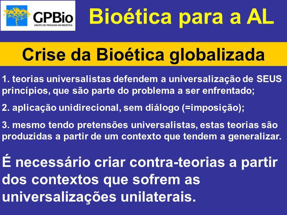 Crise da Bioética globalizada