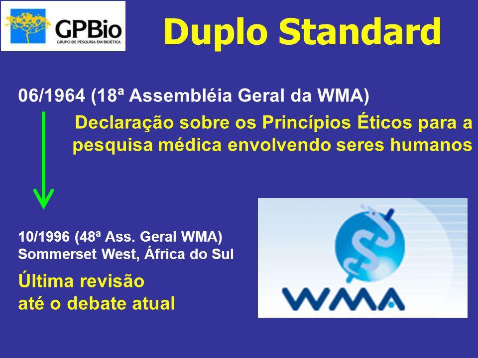 Duplo Standard 06/1964 (18ª Assembléia Geral da WMA)