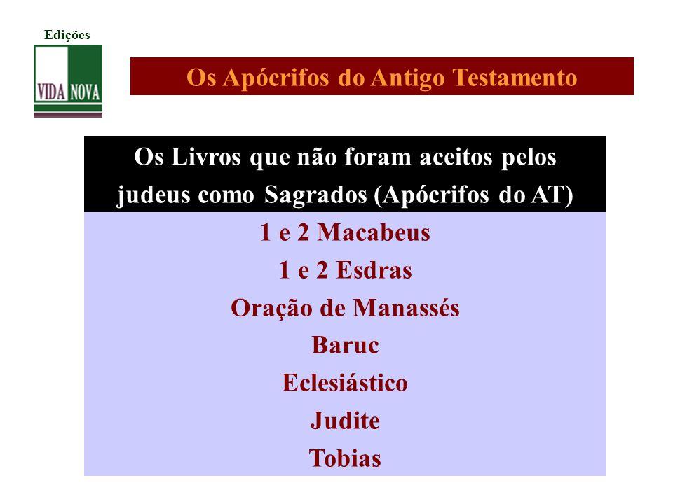 Os Apócrifos do Antigo Testamento