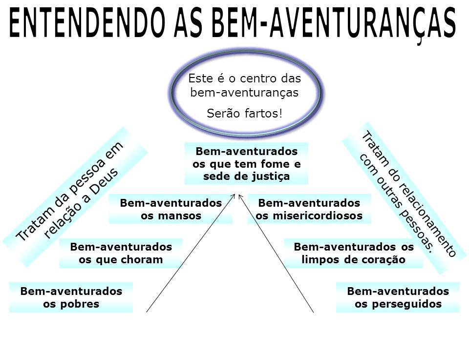 ENTENDENDO AS BEM-AVENTURANÇAS