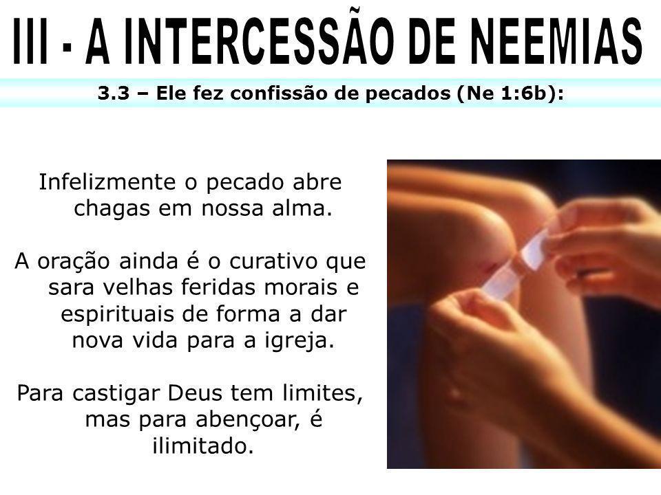 III - A INTERCESSÃO DE NEEMIAS