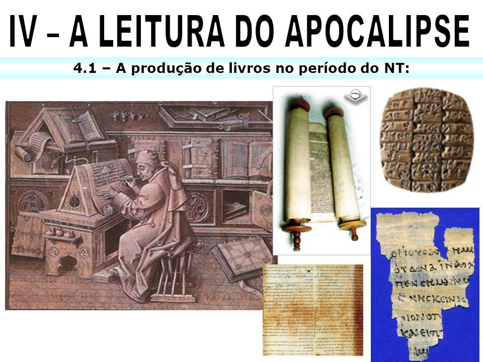 IV – A LEITURA DO APOCALIPSE