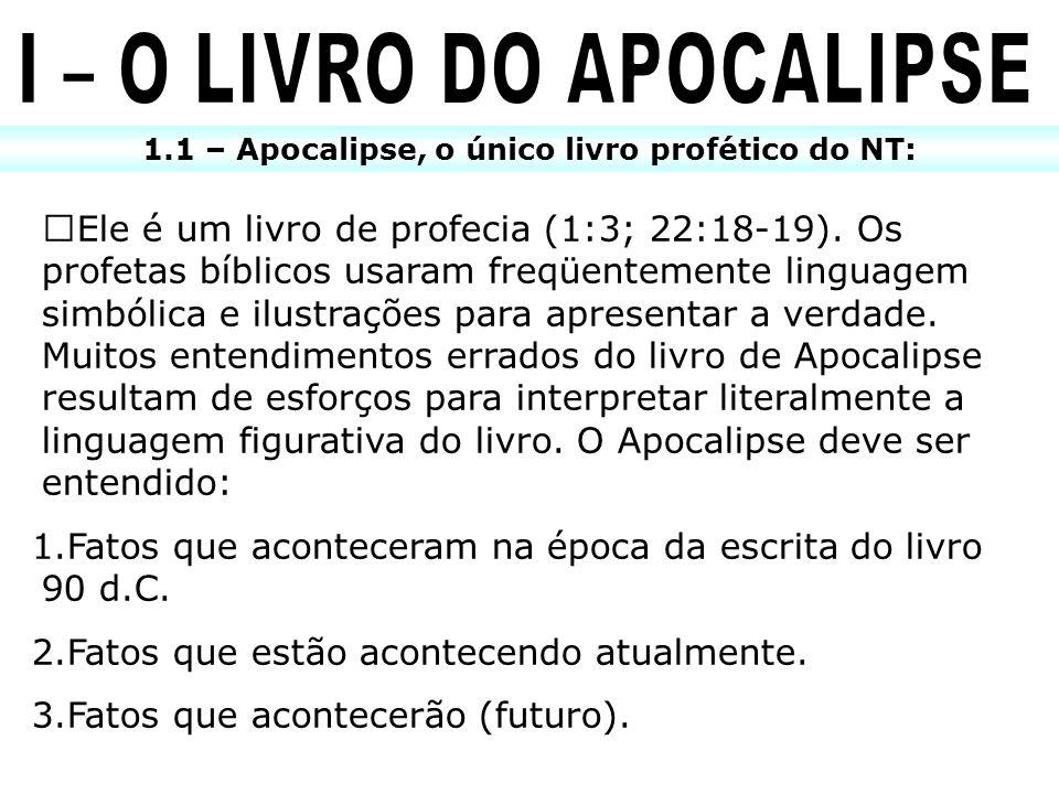 I – O LIVRO DO APOCALIPSE