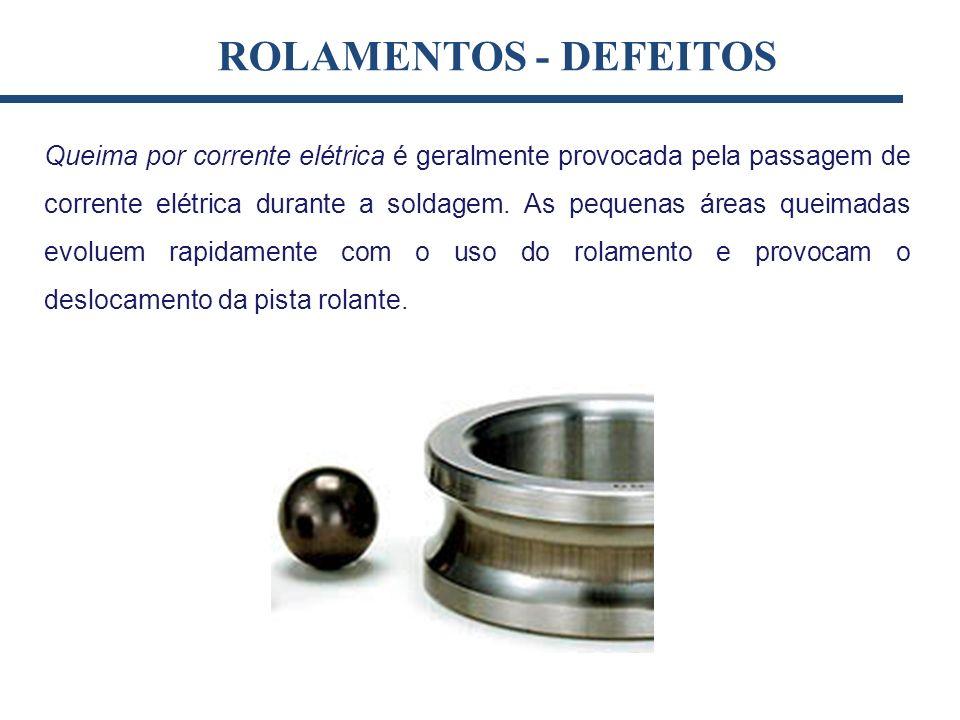 ROLAMENTOS - DEFEITOS