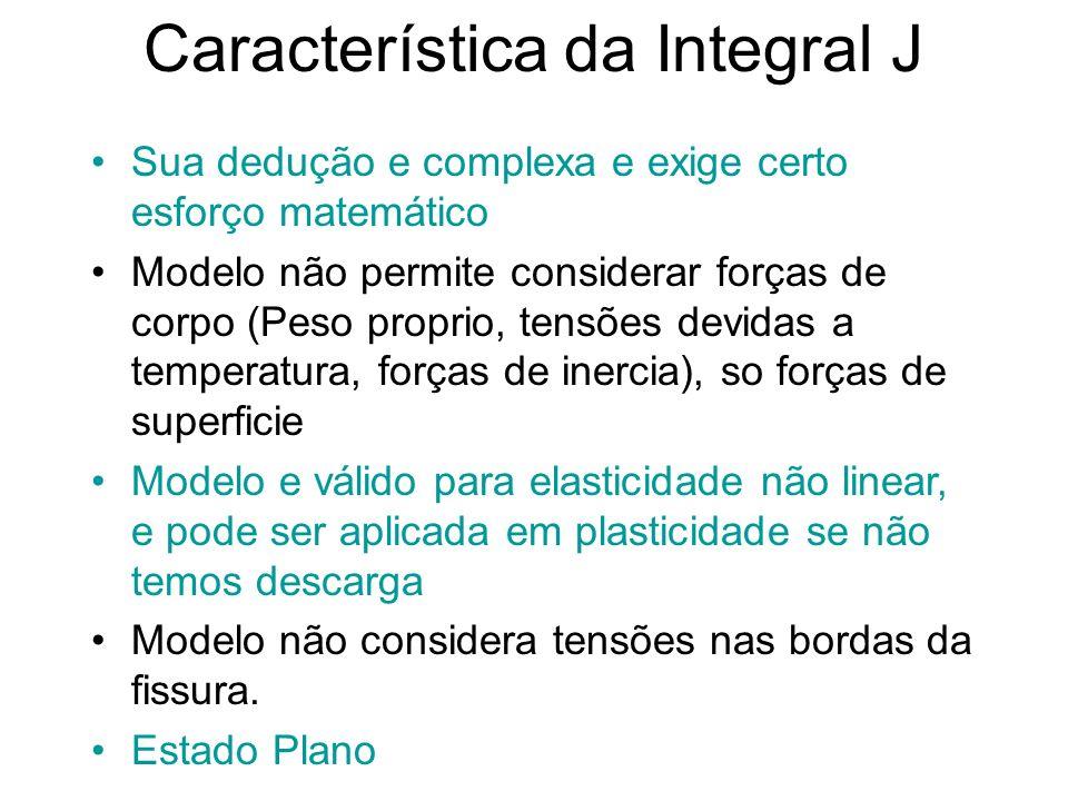 Característica da Integral J
